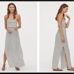 NWT- H&M Striped Maxi Dress